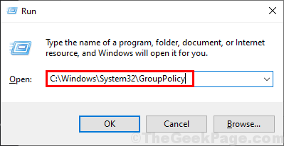 Group Policy Run