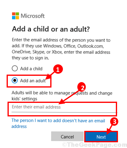 Add An Adult Next