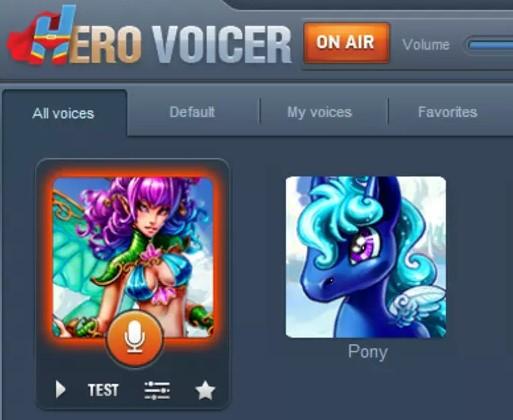 Hero Voice Changer