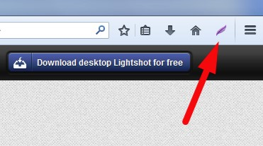 Lightshot Firefox Add On