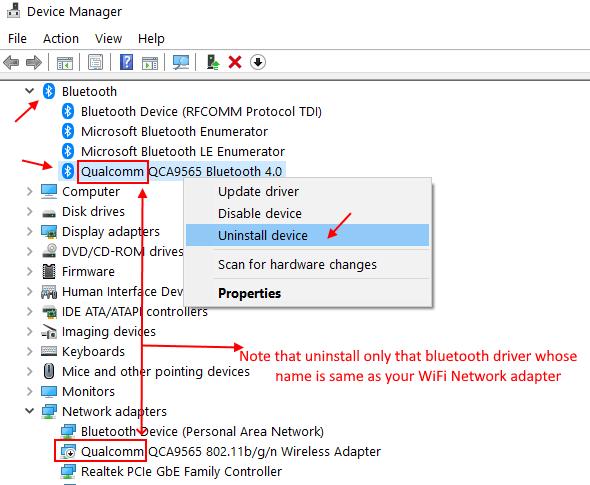 Reinstall Bluetooth Driver Min