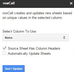 Rowcall