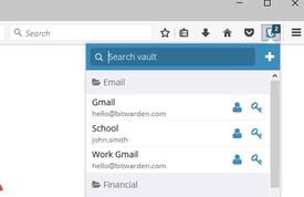 Vault Addon Firefox