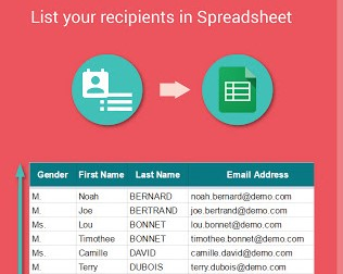Yet Anothermail Merge Google Sheet Add On