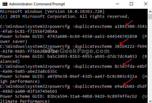 Enter The Commands In The Command Prompt And Hit Enter