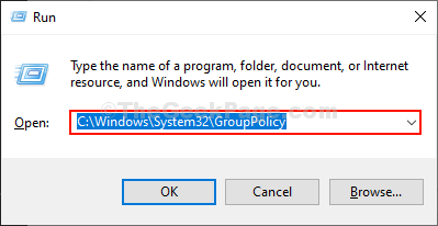 Group Policy Explorer Run