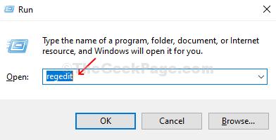Press Windows + R On Keyboard, Open Run Box, Enter Regedit