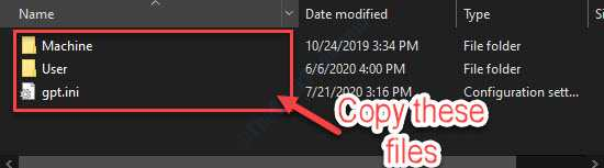 Copy These Files