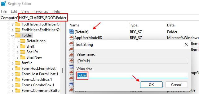 Folder Default Min