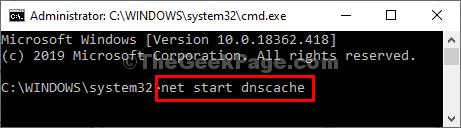 Net Start Cmd