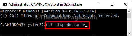 Net Stop Cmd