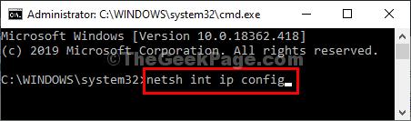 Netsh Ip Config