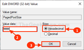 Pagedpool Size Double Click