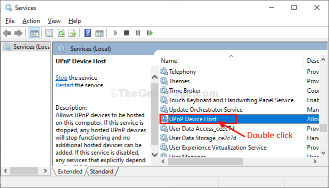 Upnp Device Host Double Click