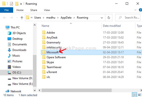 Appdata Roaming Microsoft Double Click