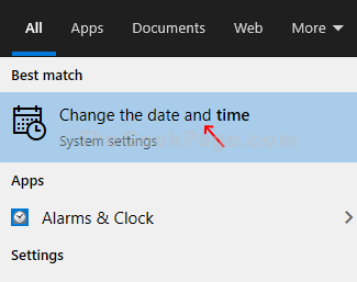 Desktop Windows Icon Search Box Time Change Date And Time