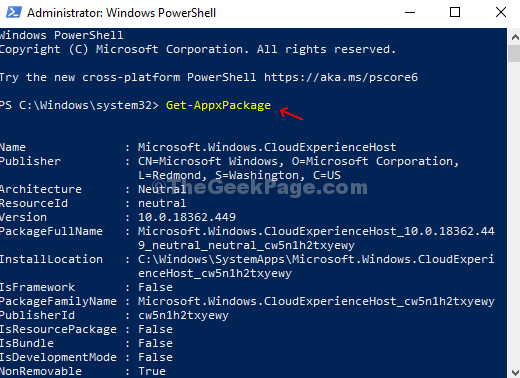 Powershell Run Command List Of All The Apps With Details