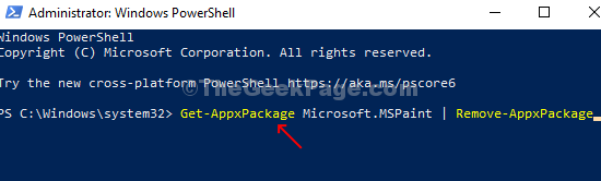Powershell Run Command Enter