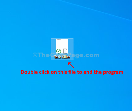 Saved File Double Click Program Closed
