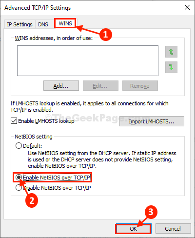 Enable Netbios Over Tcp Ip