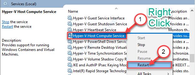 Hyper V Restart
