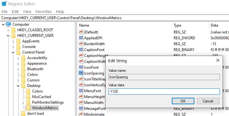 Iconspacing Min