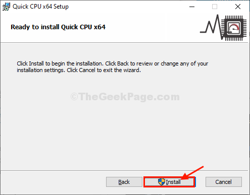 Install The Quick Cpu