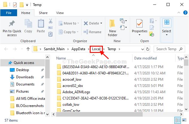 Lcoal Folder