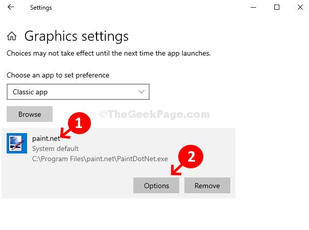 Paint.net App Options