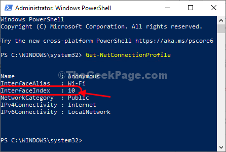 Powershell Get Networl