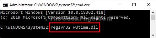 W3timedll File Execution