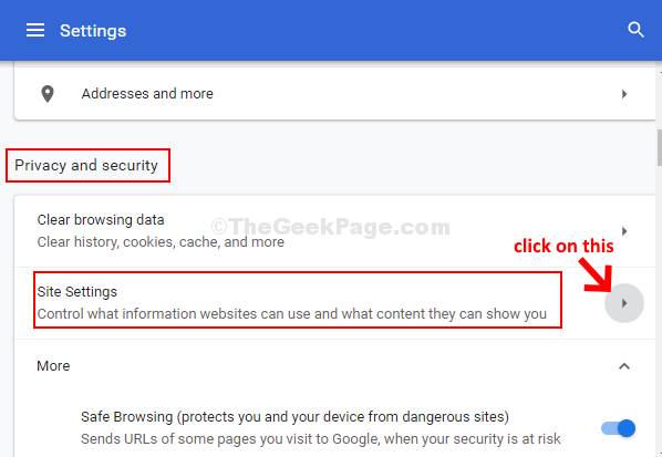 Chrome Settings Privacy And Security Site Settings