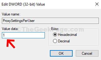 Edit Dword (32 Bit) Value Change Value Data To 1