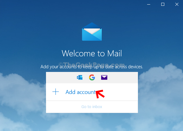 Mail App Add Account