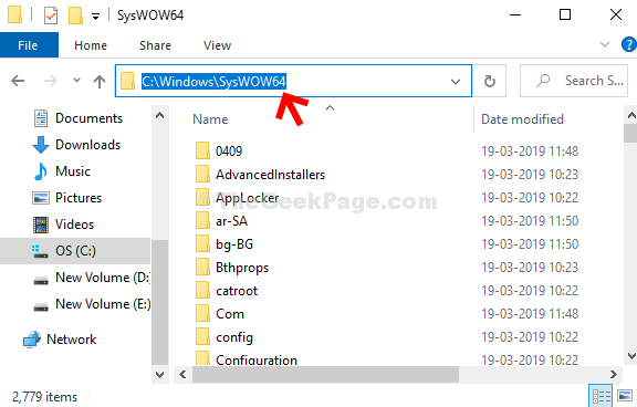 Navigate To Syswow64 Folder In C Drive