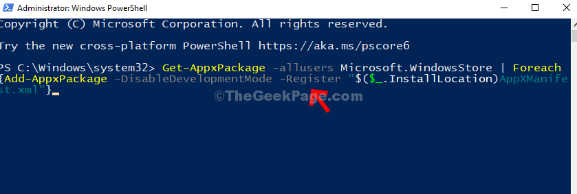 Powershell Type Command Enter