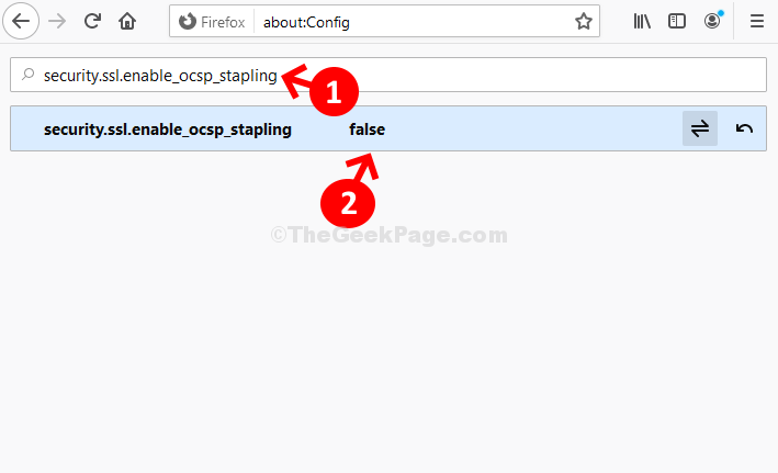 Search Box Security.ssl.enable Ocsp Stapling  Double Click On Result False