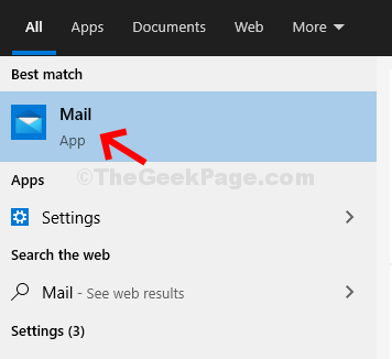 Start Search Mail
