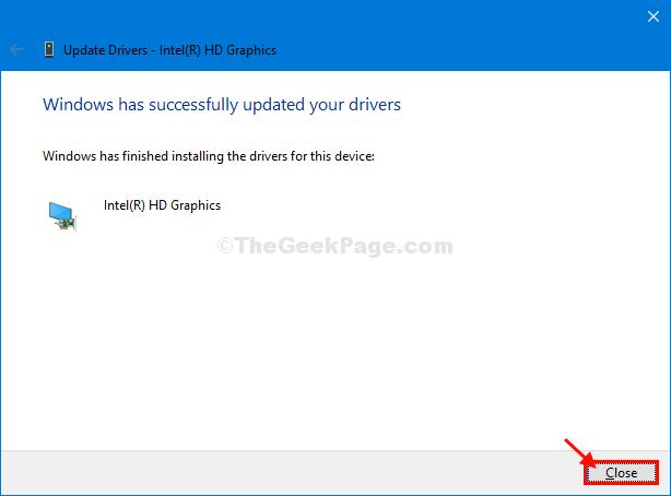 Close Driver Update