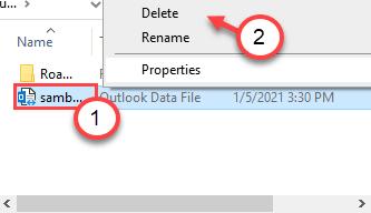 Delete Outlook File Min
