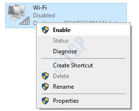 Enable Wifi Adapter