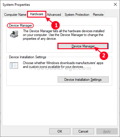 Hardware Device Manager
