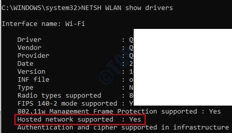 Hosted Network Support