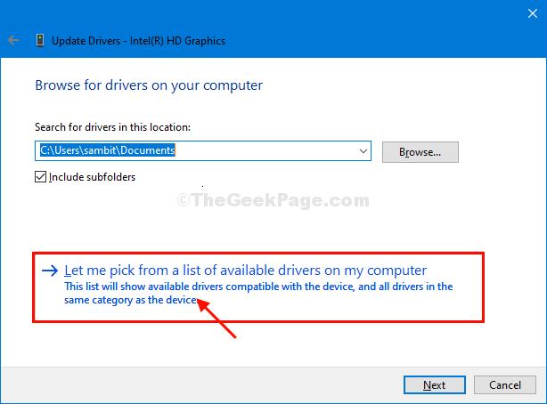 Let Me Pick Driver