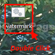 Watermark Double Clickl