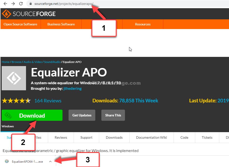 Browser Open Link Download Click On Set Up File