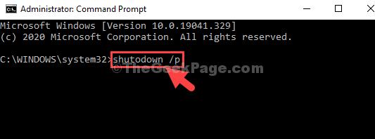 Command Prompt Admin Mode Run Command Enter