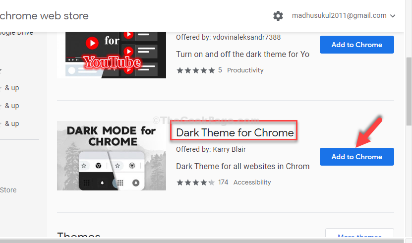 Dark Theme For Chrome Karry Blair Add To Chrome