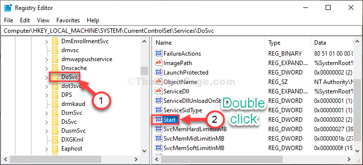 Double Click Start