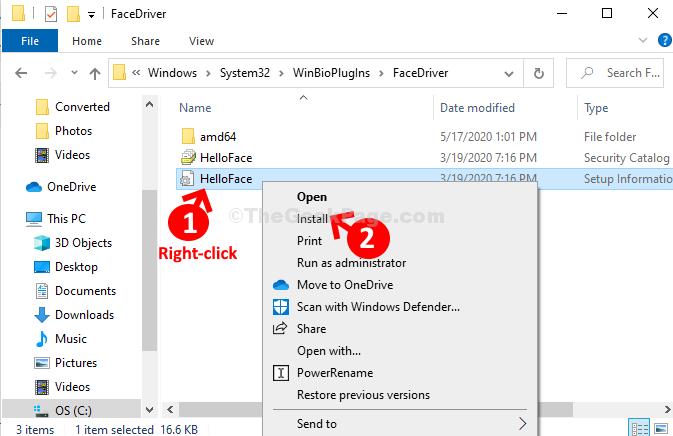Helloface Right Click Install
